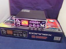 CONNEX 3400HP 10 METER HAM RADIO, 7 COLOR LED, DUAL FINAL, SCHOTTKY RECEIVE