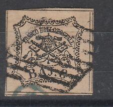 FRANCOBOLLI 1852 STATO PONTIFICIO 8 BAJ D/4549