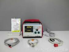 ZOLL M Series BiPhasic 3 lead ECG SpO2  AED ALS Pacing Case with Adult Pads