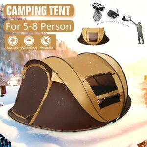 Camping Tent Automatic Waterproof UV Protection Sunshade Canopy Outdoor Travel