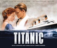 TITANIC James Horner 20TH ANNIVERSARY 4-CD Soundtrack LA-LA LAND Ltd Edtn NEW!