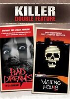 BAD DREAMS + VISITING HOURS New Sealed 2 DVD Killer Double Feature