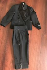 Kids Suits Tuxedo , Very High Quality . Size 4 Suit And Pant To Fit 4-6Years Old