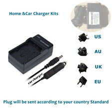 AC+DC Charger for RicohGR Digital Camera GR Digital III II DB-110 Li-Ion Battery
