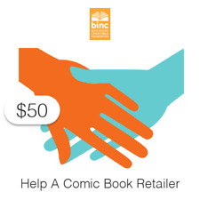 $50 Charitable Donation For: Help a Comic Book Retailer Today