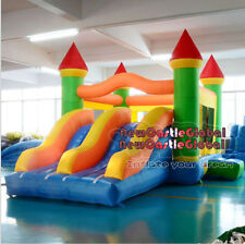 21 ft Giant dual slide inflatable castle jumping bouncer bouncy obstacle course