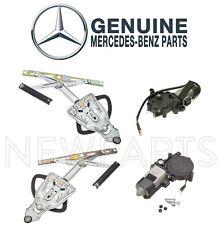 For Mercedes W124 Front Left & Right Window Regulators With Motors Genuine KIT