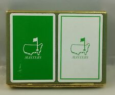 #G# MASTERS GOLF Tournament Club vintage PLAYING CARDS, 2 Decks of 52 cards each