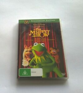 The Muppet Show : Season 1 (DVD, 2011, 4-Disc dvd clean disk Australian release