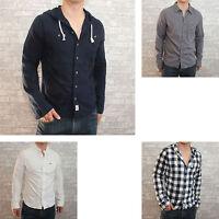 New Hollister Mens Button Shirt Longsleeve