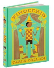 *New Sealed Leatherbound* PINOCCHIO by Carlo Collodi (2016) Barnes & Noble