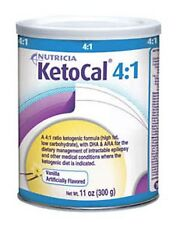 KetoCal 4 Oral Supplement Feeding Formula Vanilla - 300 gr Can Nutricia 6/Case