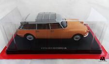 Miniature IXO Car CITROEN ID 19 Break 1958 Scale 1/24e Diecast Metal