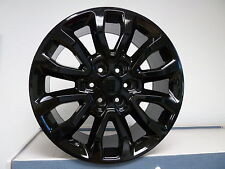 """4) 20"""" Ford Raptor Replica Wheels Rims Set Fits 2003 - Up Expedition Gloss Black"""