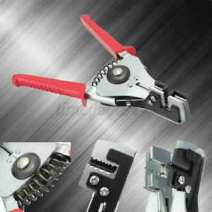 Steel Automatic Cable Wire Stripper Stripping Crimper Crimping Plier Cutter