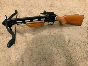 Wood Stock Gentlemans Weapon of Chioce Hunting Crossbow 150lbs MK USED great
