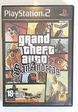 GTA Grand Theft Auto San Andreas PS2 PAL