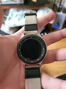 Used Samsung Galaxy Watch Sm-r800 46mm Silver Smartwatch Bluetooth WiFi