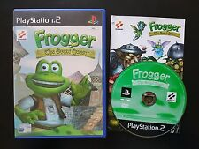 Frogger: The Great Quest-PlayStation 2-RARE-Gratis, Rápido P&P!