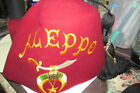 Very Old MASONIC SHRINERS FEZ! Aleppo Temple SCIMITAR JEWEL Basch Cap Co Boston