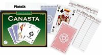 NEW!! Canasta Card Game for 2 or 4 players- 14 years and up FREE UK DELIVERY!!