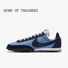 Nike Waffle Racer Light Blue/Midnight Navy/Black Men's Trainers All Sizes