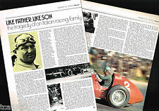 Antonio / Alberto ASCARI Racing Article / Photos / Pictures: Formula One f-1, GP