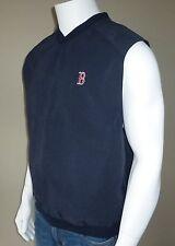 Boston Red Sox Antigua Golf Vest, Blue, Medium