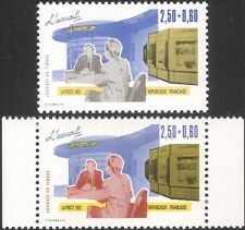 France 1992 Stamp Day/Post Office Counter/Stamp Machines 2v set (n39183z)