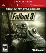 PlayStation 3 : Fallout 3 Game of the Year Edition(PS3 & VideoGames Great Value