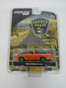 Greenlight SE Green Machine 2011 County Roads 1966 Dodge D-100 Series 6