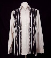JONES NEW YORK COUNTRY Long Sleeve Button Down Lady's Silk Top Shirt Size 10