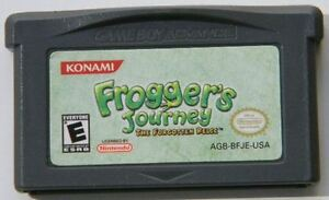Game Boy Advance Frogger's Journey The Forgotten Relic Cartridge Only
