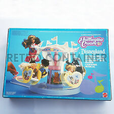 VINTAGE BARBIE MATTEL HEART FAMILY Famiglia Cuore Disneyland Giostra Carousel