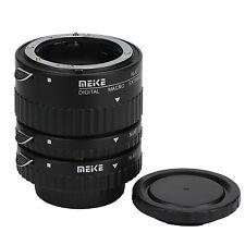 Meike Auto Focus Lens Macro Extension Tube for Nikon F Mount Adapter DSLR Camera