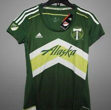MLS Portland Timbers Alaska Adidas Soccer Jersey New Womens Size SMALL