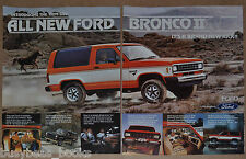 1983 FORD BRONCO II 2-page advertisement, Bronco II large photo