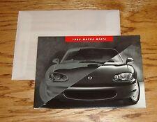 Original 1999 Mazda Miata Sales Brochure w/Envelope 99
