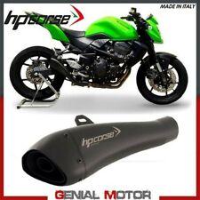 Terminale Di Scarico Hp Corse Hydroform Black Kawasaki Z 750 2007 > 2014