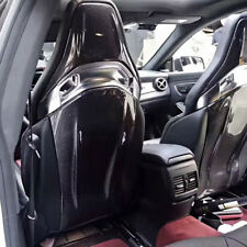For Benz C-Class C63 4Door A CLA GLA Class AMG 14-17 Carbon Seat Back Cover Kits