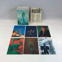 THE ALIEN WORLD of WAYNE BARLOWE (Comic Images/1994) Complete Trading Card Set