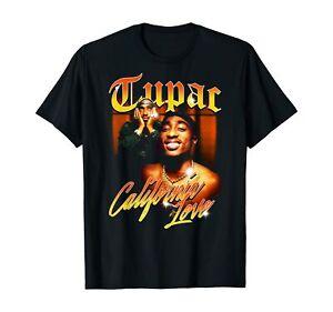 Vintage California Official Tupac Love T-Shirt Black S-5XL