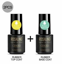 Rosalind Nail Varnish Rubber Top and Base Coat UV/LED - NV0012