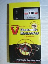 Victor M2524Electronic Mice Trap Poison Free Green Light Indicates Kill NEW SAlE