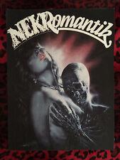 """Nekromantik Back Patch! 11"""" X 14.5"""" Horror Punk Rockabilly Psychobilly Metal"""