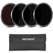 Neewer 4 Pics 58MM IR Filters Set: IR720 IR760 IR850 IR950 w/ Pouch f NIKON D710