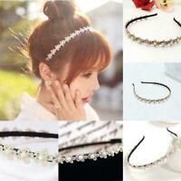 Mode Frauen Mädchen koreanischen Stil HOOP-Stirnband Haarband Side-Clip-Zub Neu