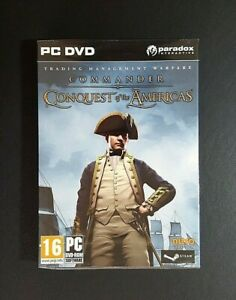 Commander Conquest Of The Americas *New & Sealed (PC, 2000) PC Game - FREE POST