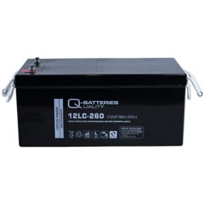 Versorgerbatterie Q-Batteries 12LC-260 278Ah 12V AGM  Solar/Segelboot/Womo