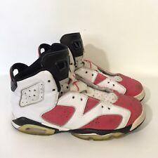 Nike Air Jordan Retro 6 Carmine 384665-161 Size 6 Youth